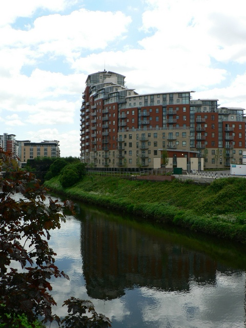 City Island and the River Aire, Leeds