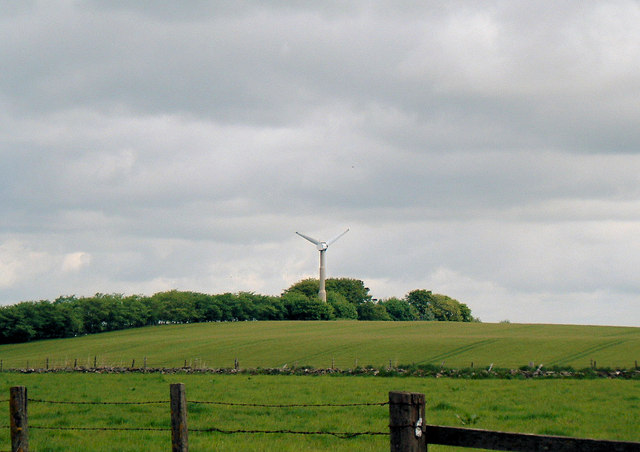 Wind Turbine at Bogfechel