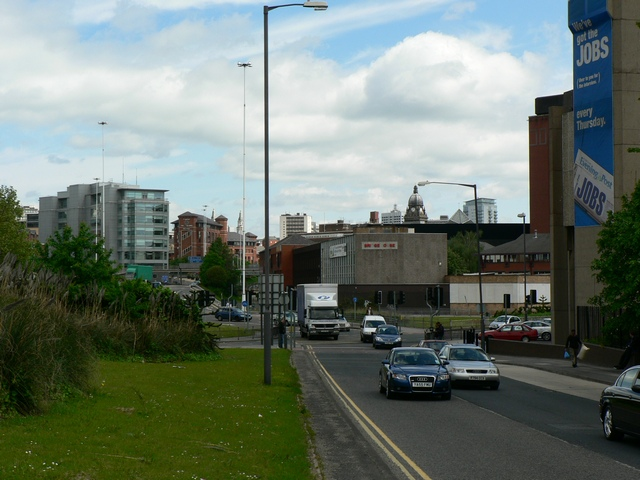 Slip Road by Yorkshire Post building, Leeds