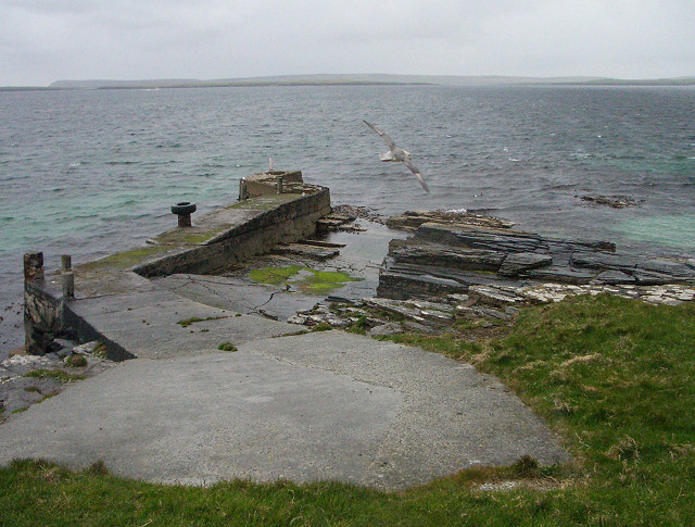 Pier at Scarra Taing