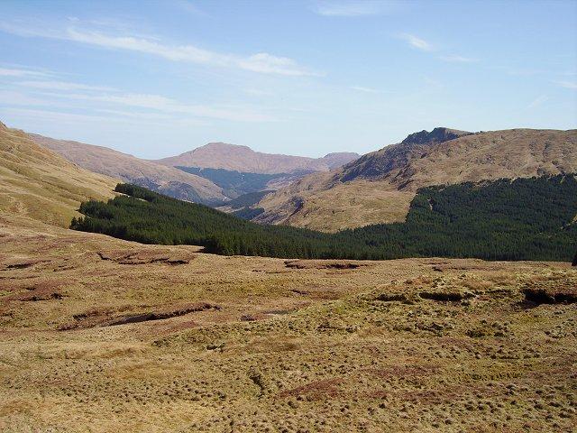Bealach below Cruach  nan Capull