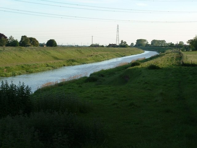 The North Level Drain at Tydd Gote