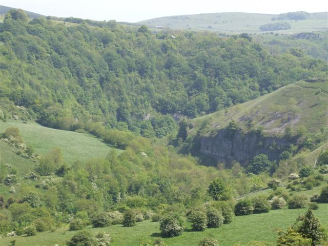 River Wye gorge at Water cum Jolly