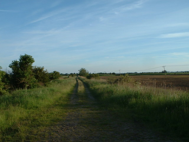 Disused railway near North Wootton, Norfolk.