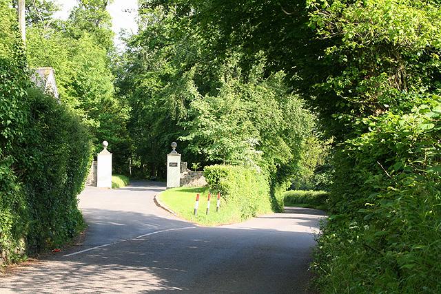 Tiverton: near Newte's Hill