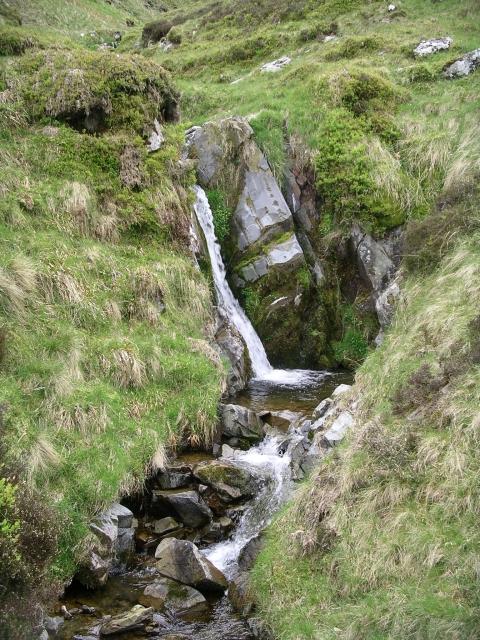 Small waterfall, Ugly Grain