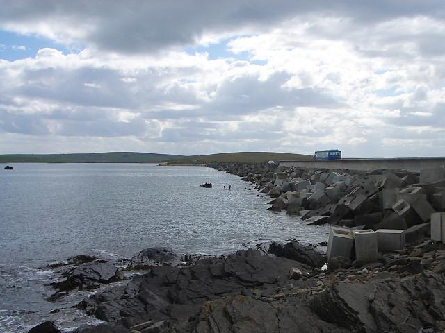 Churchill barrier no 2