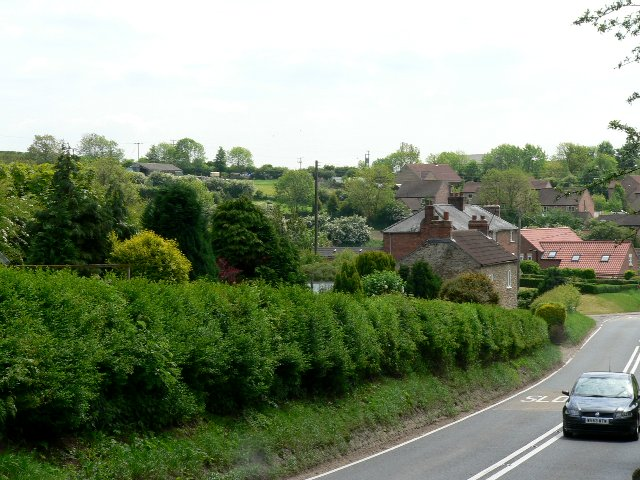 Sancton from the A1034
