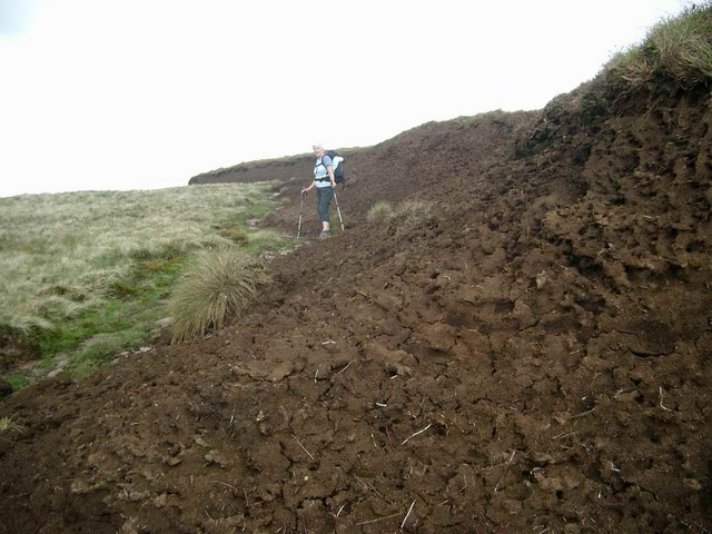 The peat is deep on Meall Clachach!