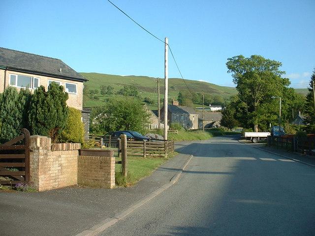 Llangwm village