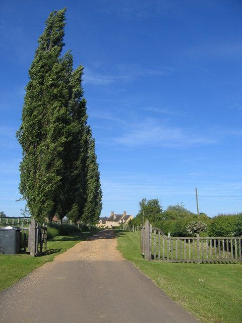 Driveway to Upper St Dennis Farm