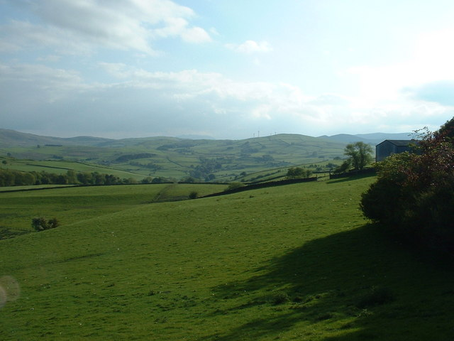 Farmland near Ty Mawr