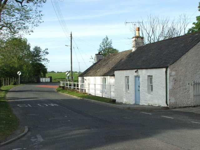 Whitewashed Cottages of Lochfoot
