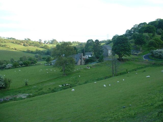 Rhydywernen hamlet