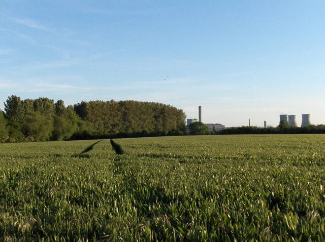 Farmland near Clifton Hampden