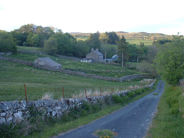 Glanllafar farm