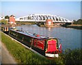 SJ6076 : Acton Bridge, Weaver Navigation by Jo Lxix