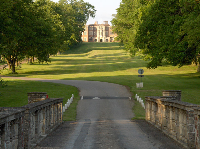 The approach to Bramshill House
