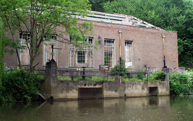 Derelict Pumping Station, above St Anne's Park