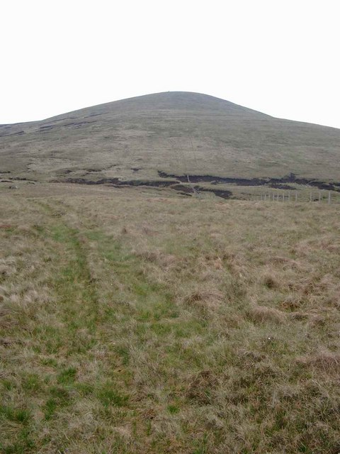 The NW ridge of Uamh Bheag