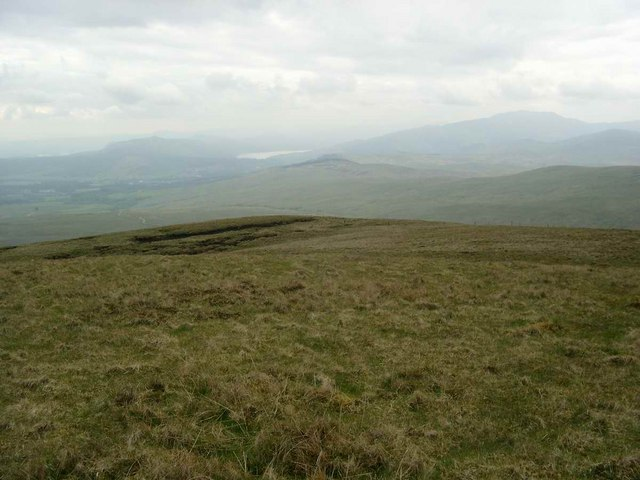The SW slopes of Uamh Mhor