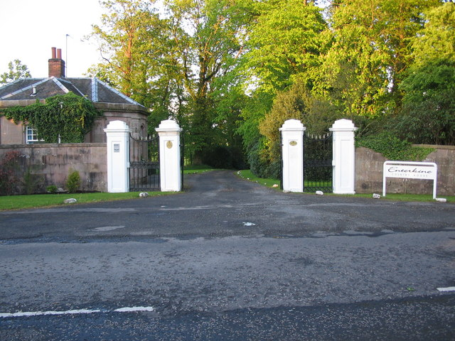 Entrance to Enterkine House