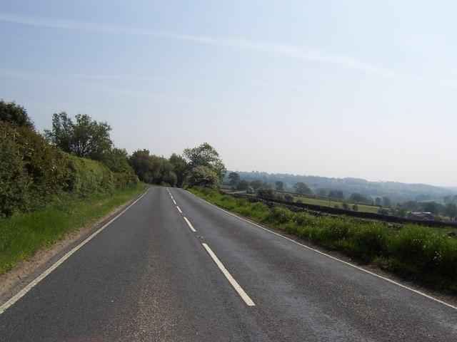 B6165 near access lane for Birchfield Farm