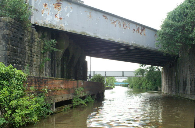 GWR Skew Bridge, Feeder Canal