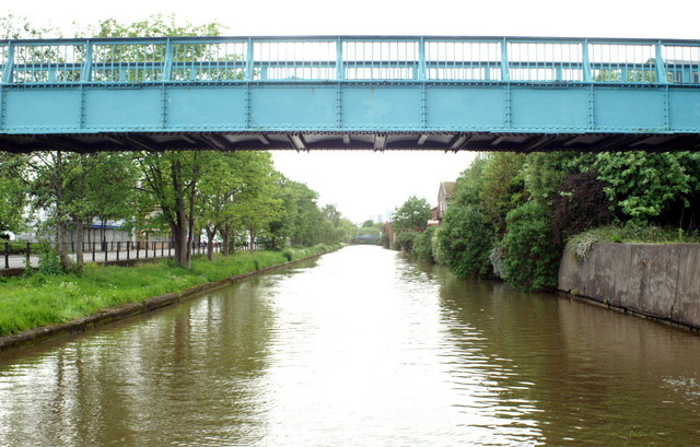 Feeder Canal, Silverthorne Lane Footbridge