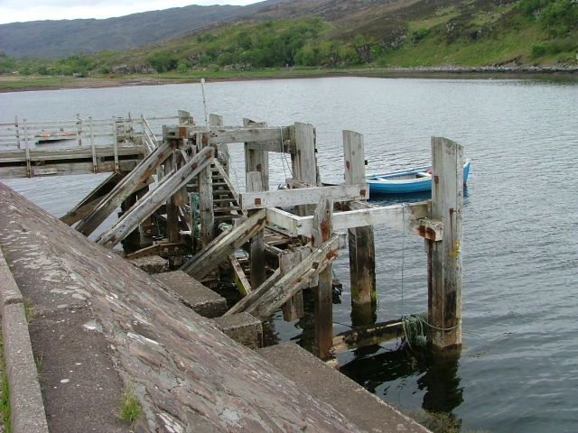 Old Pier at Toscaig