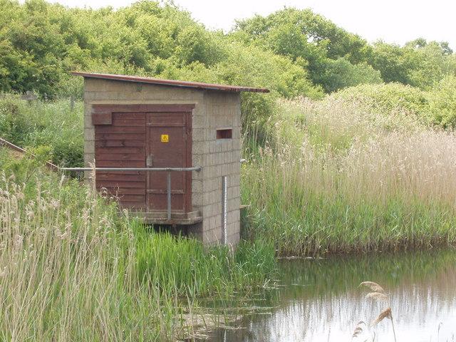 Pump house on Otmoor