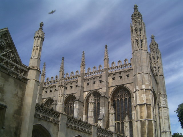 The Dreaming Spires: King's College Chapel, Cambridge