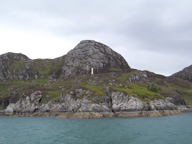 The statue on the headland.