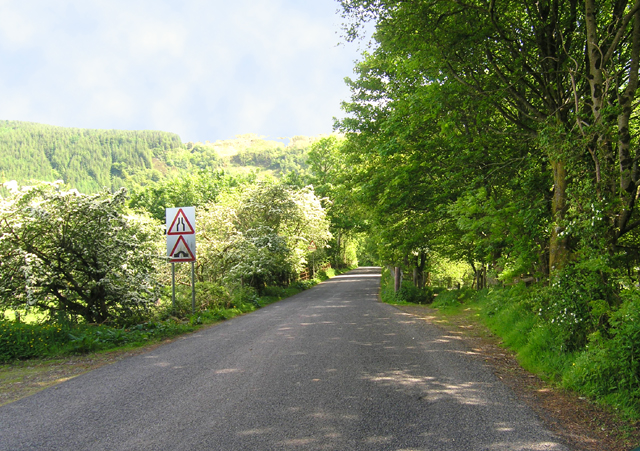 Benderloch back road