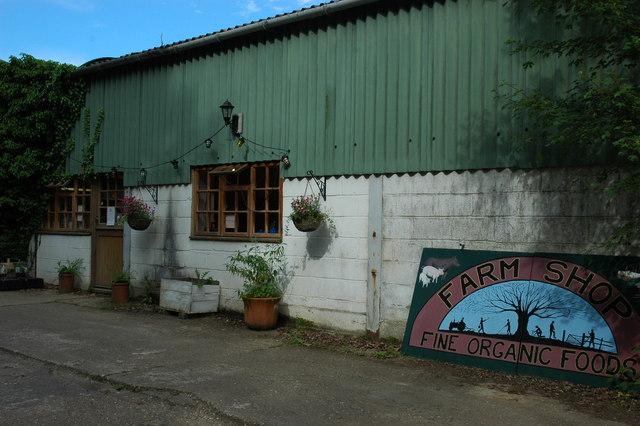 Lower Barrihurst Organic Farm shop