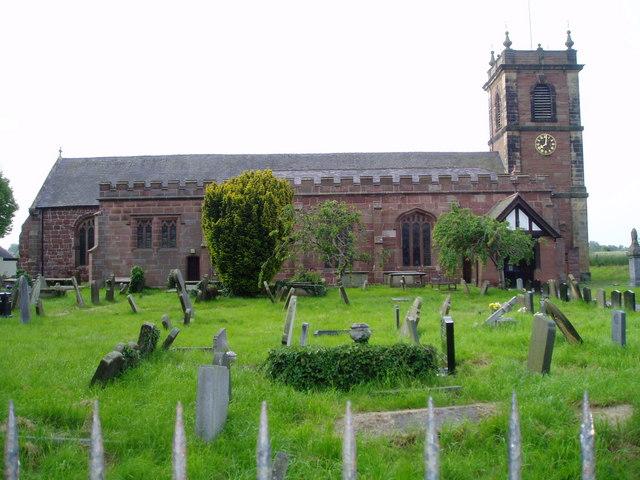 Church of St Dunawd, Bangor on Dee