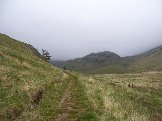 The path to Barrisdale