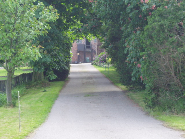 Avenue to Bowen's Hall