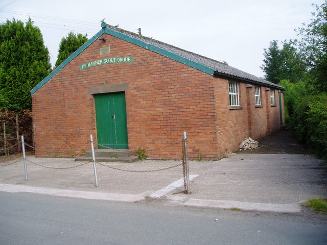 Hanmer Scout Hall (in Horseman's Green)