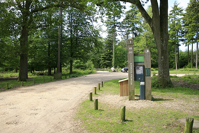 Southeastern entrance to Wilverley Inclosure, New Forest