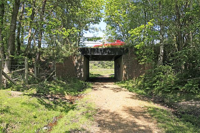 Old railway bridge south of Wilverley Inclosure