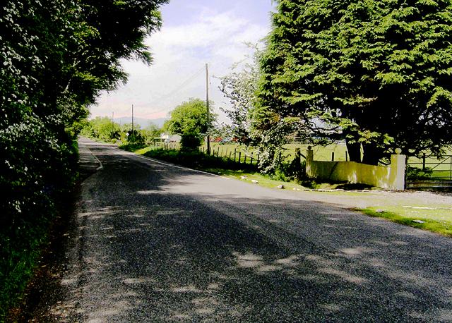 Benderloch back road toward Kintaline