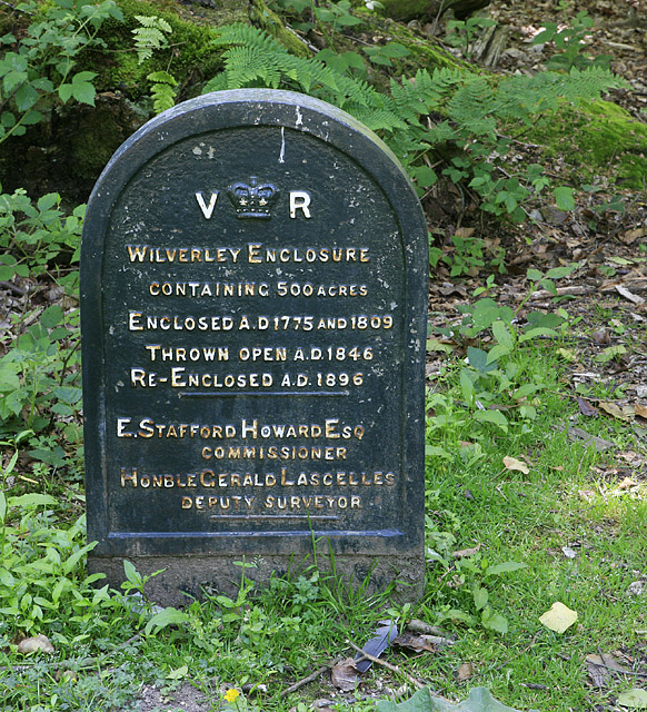 Victorian cast iron history of Wilverley Inclosure