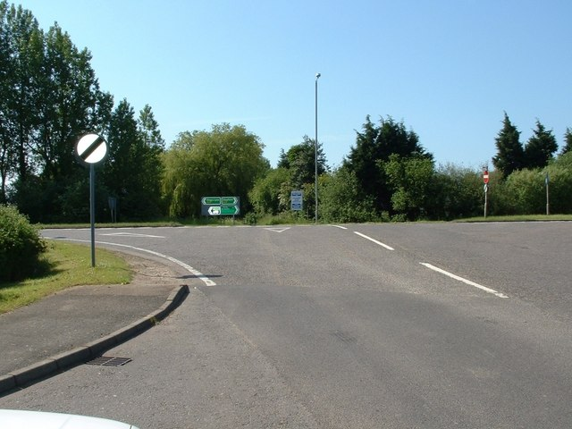 Station road junction, Terrington St Clement