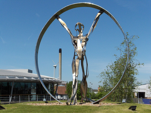 Sculpture, Reading International Business Park
