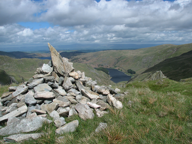 Mardale Ill Bell Summit Cairn.