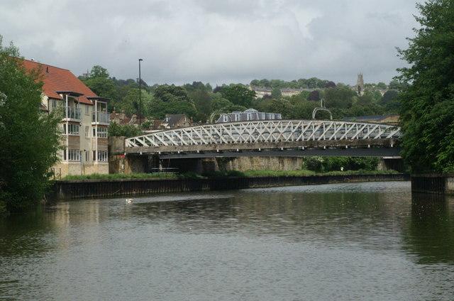 River Avon below Windsor Bridge