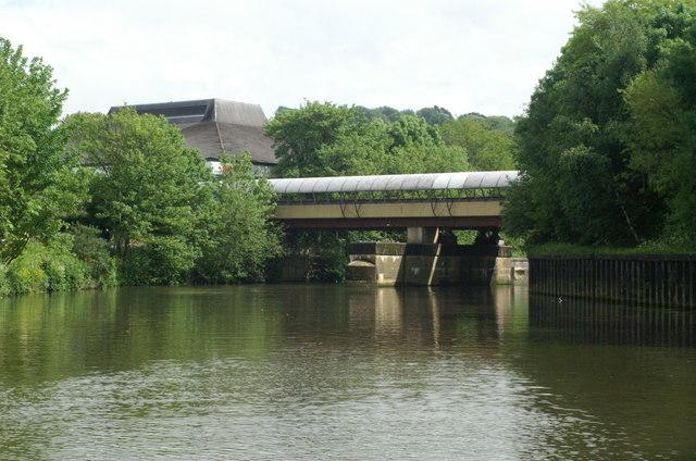 River Avon below Sainsbury's Bridge