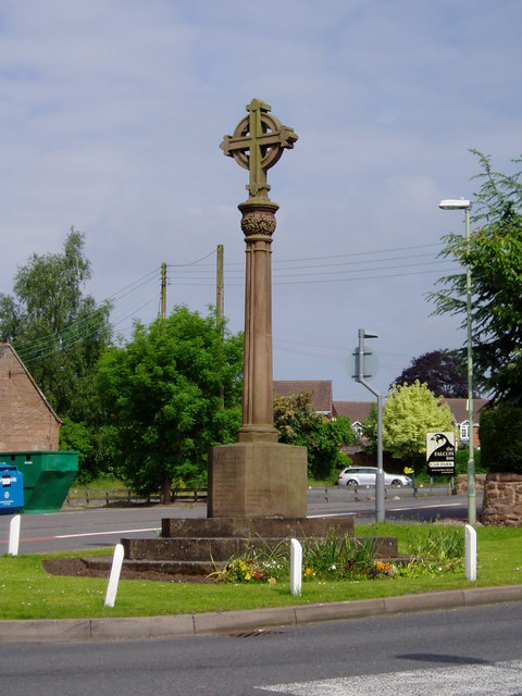 War Memorial at Hinstock