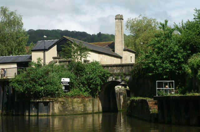 Entrance to Kennet & Avon Canal, Bath